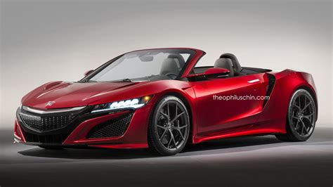 Acura Nsx Convertible honda nsx convertible gets rendered forcegt