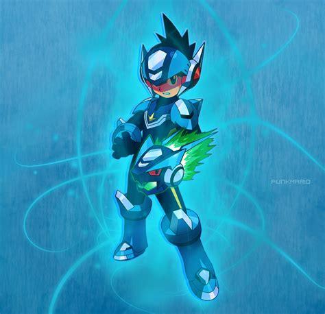 megaman starforce megaman by xsuperpunkmariox on deviantart