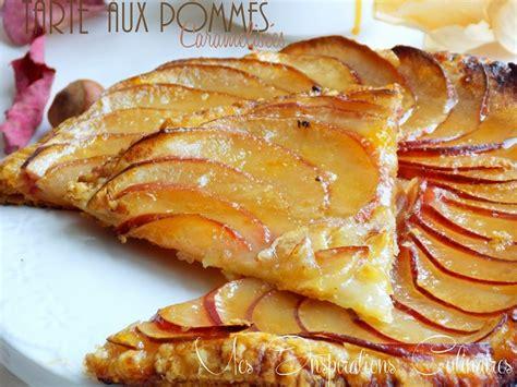 tarte aux pommes caram 233 lis 233 es le cuisine de samar