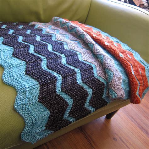 chevron knitted baby blanket pattern the walt painted chevron baby blanket fibre space