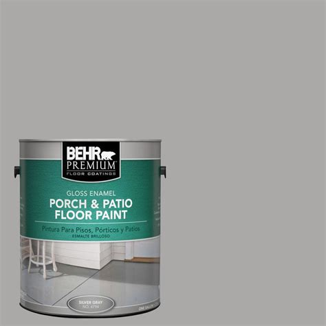 behr paint colors porch and floor behr premium 1 gal pfc 68 silver gray gloss porch and