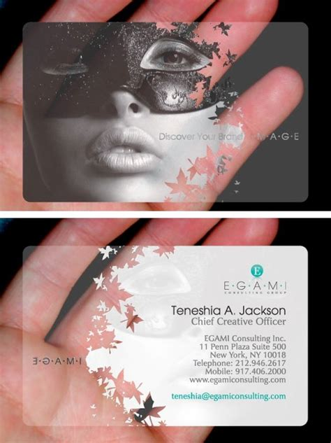 make your own plastic card 25 best ideas about creative business cards on