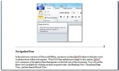 how to insert how to quickly insert horizontal line in word 2010 document