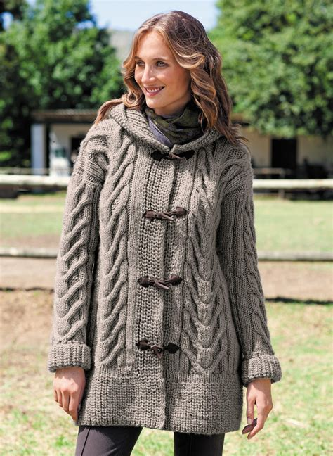 coat knitting pattern free hooded baby jacket knitting pattern breeds picture