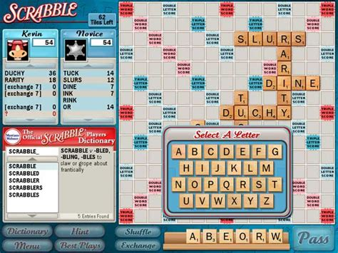 scrabble computer free scrabble screenshot 3 chocosnow