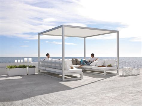 modern outdoor sofas pergola sofa outdoor spaces modern outdoor furniture