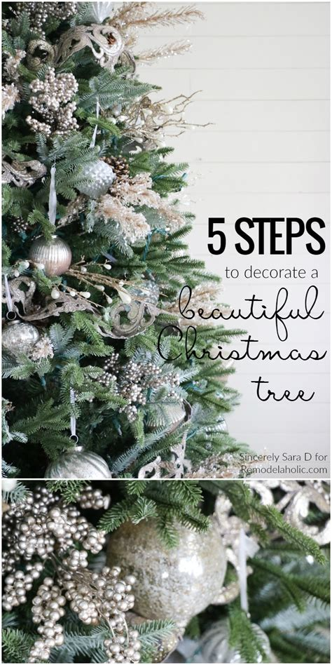 step by step decorating tree albert how to decorate a tree in 5 simple
