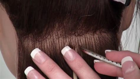 how to take out beaded extensions learn the i tip bead hair extenension method