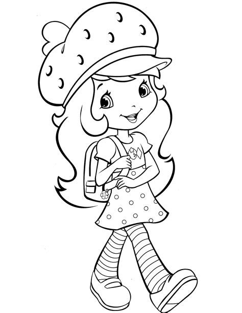 pictures of coloring books strawberry shortcake 25 coloringcolor