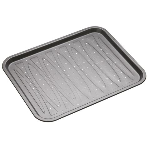 What Are The Best Kitchen Knives masterclass non stick crisper baking tray 39 x 31 5 cm