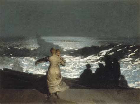 paint nite age summer 1890 winslow homer wikiart org