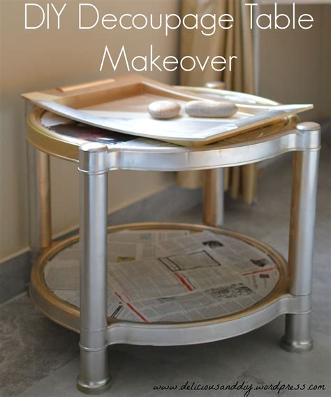 diy decoupage table 301 moved permanently