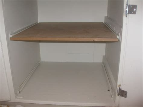 how to make pull out drawers in kitchen cabinets white wooden cabinet with simple custom diy pull out