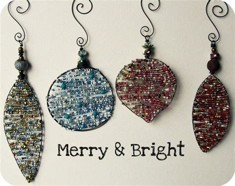 diy beaded ornaments 23 best images about bead crafts on seed bead