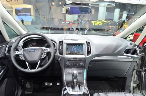 2015 ford s max interior at the 2014 motor show