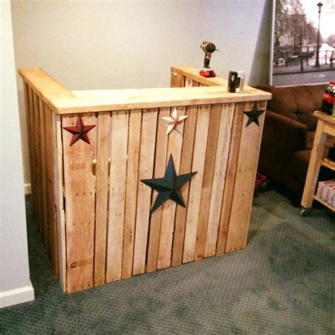 woodworking from home recycled pallet wood bar ideas pallet wood projects