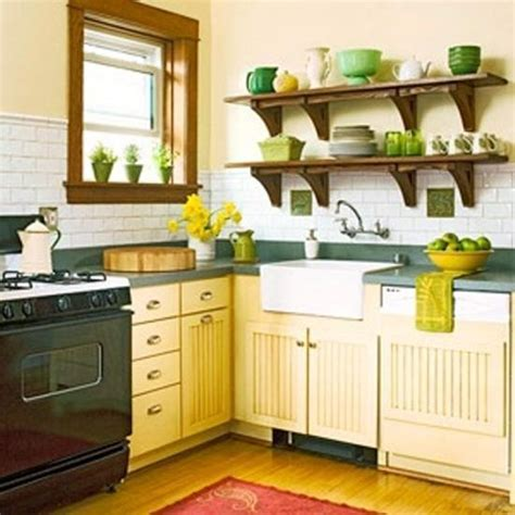 ideas for small country kitchens designs color blue small small kitchen designs in yellow and green colors