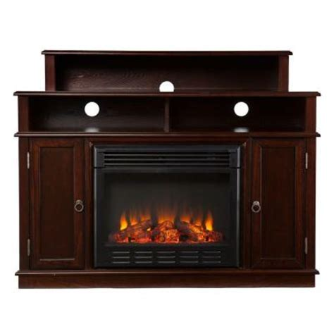 fireplace home depot southern enterprises daniel 48 in media console electric