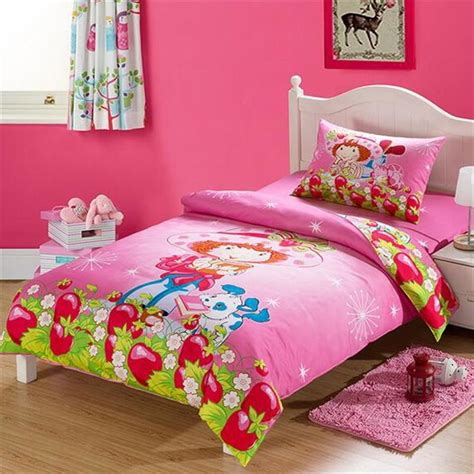 strawberry shortcake bed set strawberry shortcake bedding set reviews
