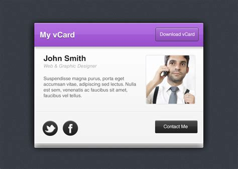 how to make a v card design a mini vcard in photoshop tutorial designbump
