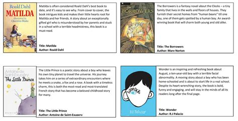 picture book analysis recommended books for children
