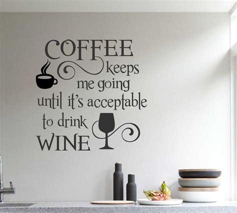 kitchen wall quote stickers 25 best ideas about kitchen decals on kitchen