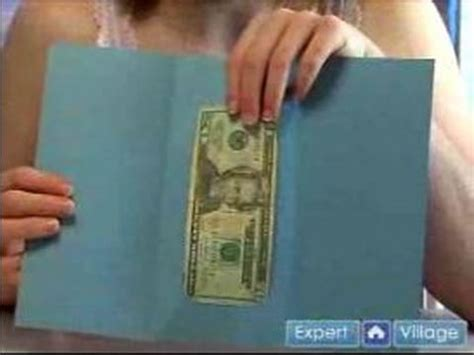 how to make a money holder card how to make greeting cards how to make money