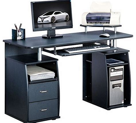 large black computer desk home office computer desk
