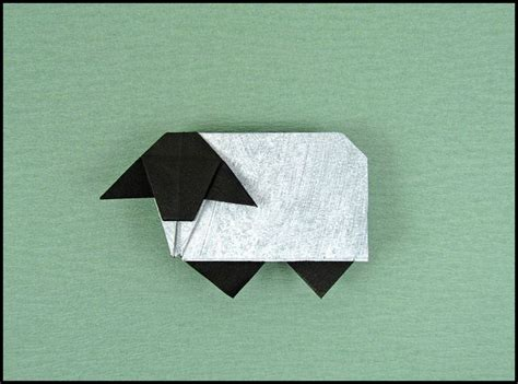 how to make origami sheep the 15 best images about origami sheep on