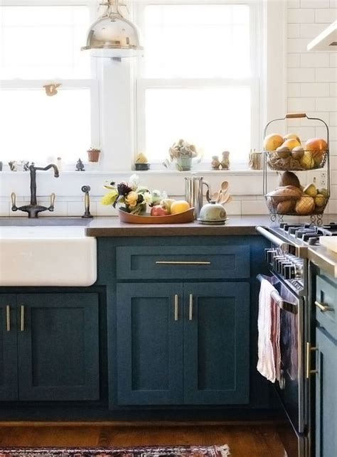 blue color kitchen cabinets best 25 blue kitchens ideas on blue