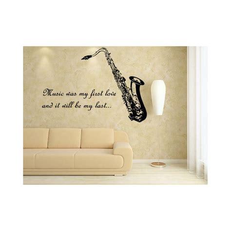 Sticker Wall Art Quotes saxophone quotes quotesgram