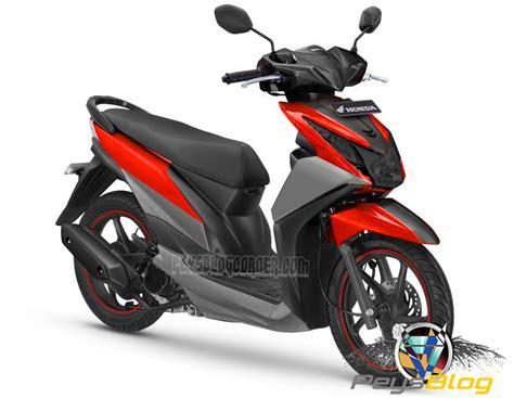 Modif Motor Matic Beat F1 by Modifikasi Motor Beat F1 Merah Putih Motorwallpapers Org