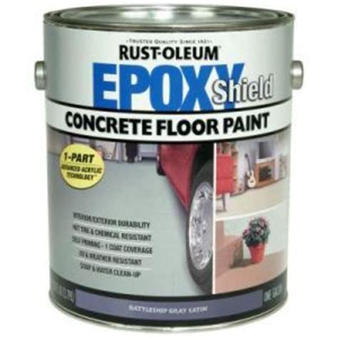 home depot paint guard rust oleum epoxy shield garage floor coating floor garage