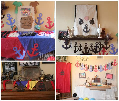 pirate room decor jake and the never land birthday