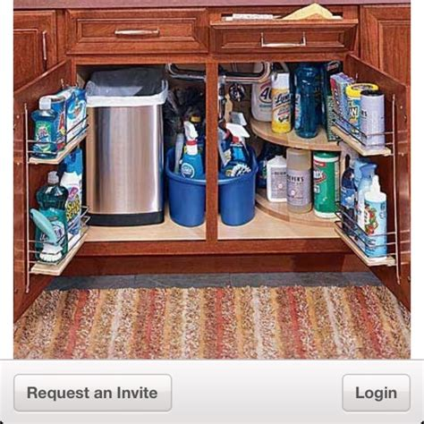 organizing the kitchen sink pin by white interiors on ar