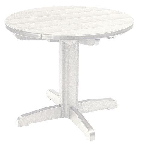 white pedestal dining table generations white 32 quot pedestal dining table tbt12 02