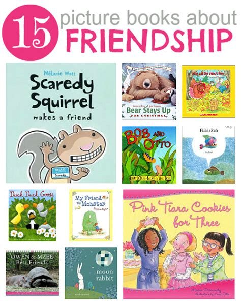 picturing books 15 picture books about friendship
