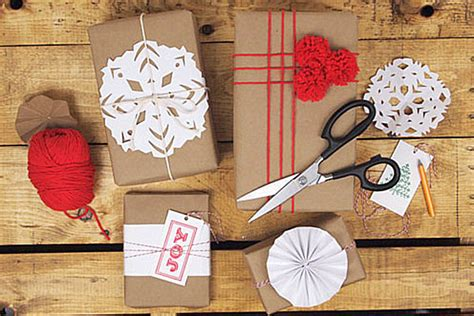craft paper wrapping ideas stylish gift wrap ideas