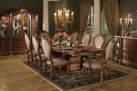 Thomasville Dining Room dining room designs vintage chandelier wooden floor