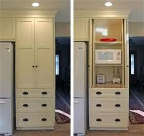 Kitchen Cabinets Ideas Pictures image result for ways to hide microwave in cabinets