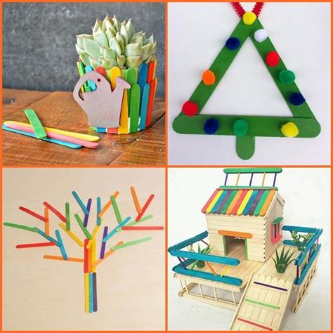 popsicle crafts projects popsicle stick craft ideas android apps on play