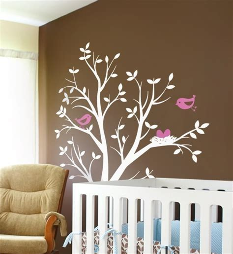 nursery tree stickers for walls 10 cool nursery wall stickers kidsomania