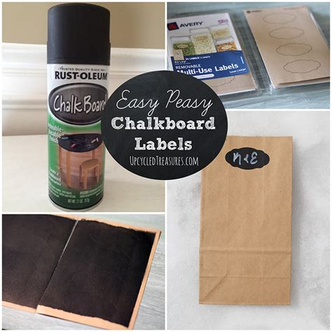chalkboard paint easy to cover up diy chalkboard labels mountainmodernlife