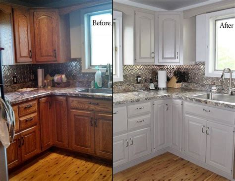 painted cabinets best 25 painted oak cabinets ideas on