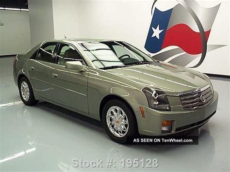 2005 Cadillac Cts 3 6 by 2005 Cadillac Cts 3 6 Sedan Vogue Wheels 78k Mi