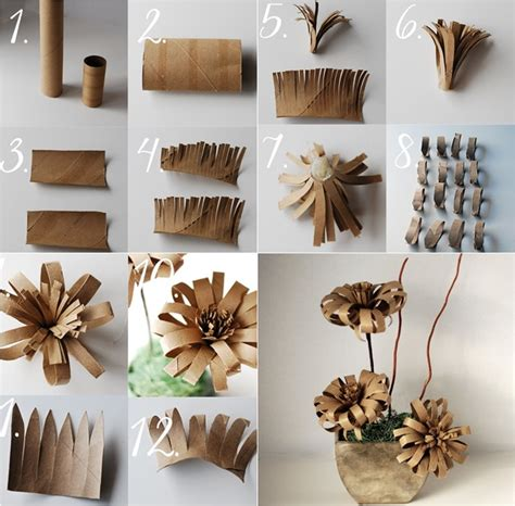 diy toilet paper roll crafts wonderful diy amazing flower toilet paper roll