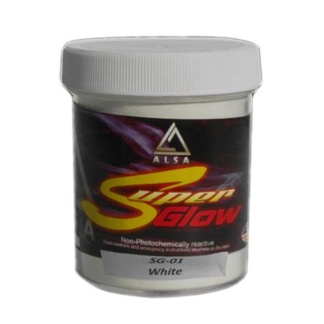 glow in the powder paint additive alsa refinish 6 oz flakes paint additive fsm108