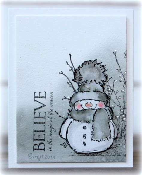 snowman cards to make 17 best ideas about snowman cards on