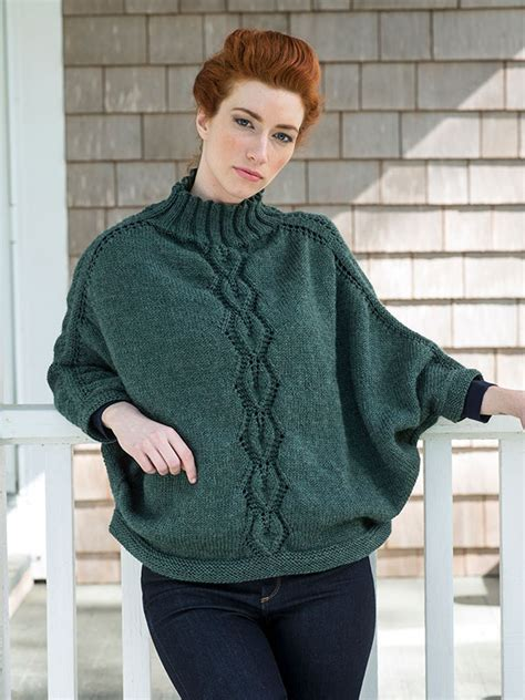 poncho free knitting pattern kombu poncho free knitting pattern knitting bee