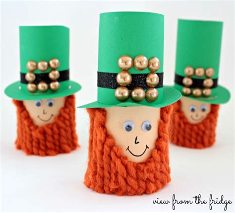leprechaun toilet paper roll craft craft toilet paper leprechauns view from the